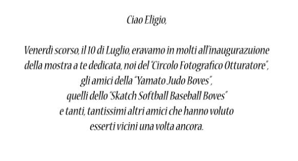 Ciao Eligio